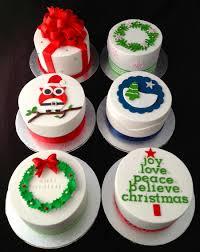 mini christmas cakes repostería pinterest mini christmas