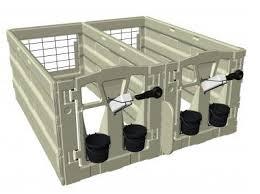 Plastic Calf Hutches Calf Tel Calf Hutches Hartung Sales And Service