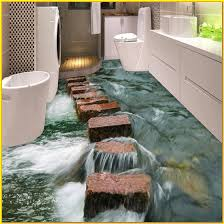 bathroom amazing 3d tile patterns bathroom floor using the with