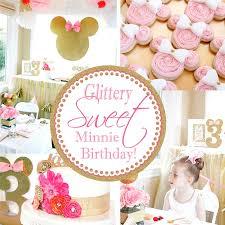 minnie mouse card table a lovely design glittery sweet minnie birthday
