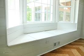 Window Storage Bench Seat Plans by Under Window Storage Bench Treenovation
