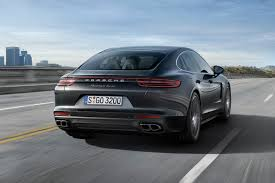 matte black porsche panamera 2017 porsche panamera turbo keeps the curves but ditches the bulk