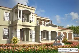 5 bedroom house plans 5 bedroom house plan id 25703 house plans by maramani