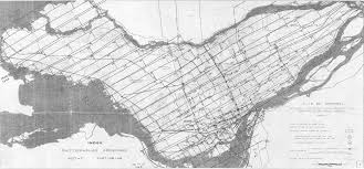 Map Of Montreal Canada by
