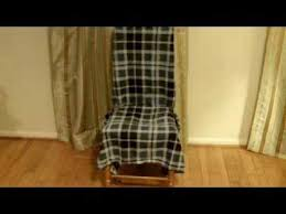 How To Make Slipcovers For Dining Room Chairs How To Make An Affordable Slipcover For A Chair Without Sewing