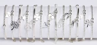 sterling silver crystal heart bracelet images Sterling silver swarovski bracelet the carat shop jpg