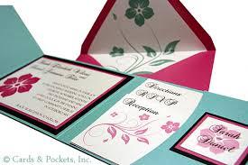 hawaiian themed wedding invitations tropical archives cards pockets design idea