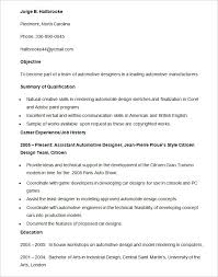 Auto Mechanic Resume Template Automotive Resume Template Automobile Resume Template 22 Free Word