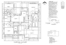 construction plan drawing u2013 modern house