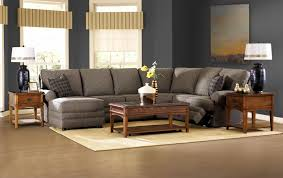 Klaussner Coffee Table reclining sectional with left side chaise by klaussner wolf and