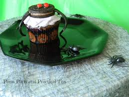 pams party u0026 practical tips easy halloween cupcakes