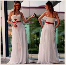 red and white wedding gowns vosoi com
