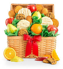 gift tree free shipping gifttree fresh fruit and cookies gift basket premium