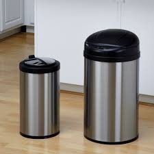 Designer Kitchen Trash Cans by Trash Can Kitchen Gallery Of Wonderful Kitchen Garbage Cans
