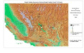 Map Of Death Valley Project Page Ronald Hess