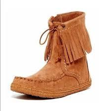 ugg s mammoth boots s ugg fringe boots on poshmark