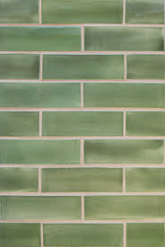 Green Tile Kitchen Backsplash by Mercury Mosaics 2