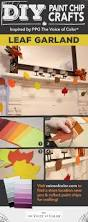 46 best halloween paint chip diy crafts images on pinterest