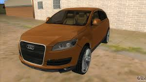 audi jeep 2010 q7 for gta san andreas