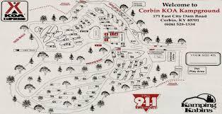map ok ky rv cgrounds corbin kentucky cground laurel lake koa and map ok ky rv