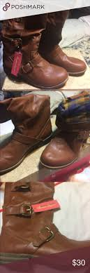 s boots size 9 1 2 rag co size 9 1 2 brown boots nwt rag brass