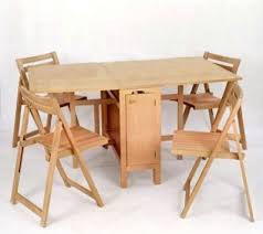 Space Saving Dining Table Round Dining Table Amp Chairs For Small Homes Space Saving Table