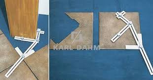 Tile Installation Tools Order No 10947 Diagonal Measuring Template Karl Dahm Shop