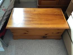 Solid Pine Ottoman Solid Pine Ottoman Blanket Box In Welwyn Garden City