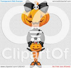 transparent halloween background clipart of a jackolantern halloween pumpkin trick or treating