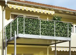 balkon sichtschutz kunststoff