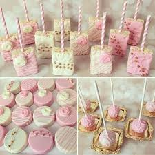 Pink And White Candy Buffet by Best 25 Baptism Dessert Table Ideas On Pinterest White Dessert