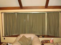 Curved Curtain Rods For Bow Windows Curtain Using Fascinating Home Depot Curtains For Beautiful Home