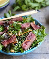 cuisine asiatique boeuf salade de boeuf à l asiatique