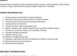 Appealing Resume Title Examples Customer by Resume Resume Customer Service Perfect Resume Customer Service