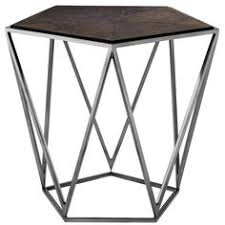 Triangle Accent Table Eichholtz Concentric Side Table Stainless Steel Set Of 2