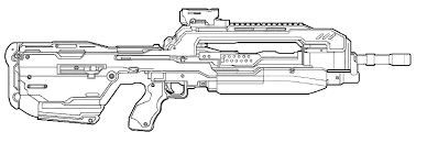 color halo 4 weapons series battle rifle halofanforlife