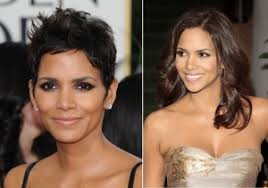 extensions for pixie cut hair halle berry pixie cut vs shoulder length hair world hair extensions