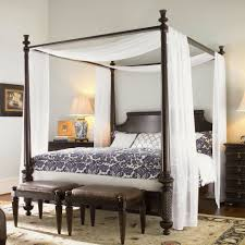 Black Canopy Bed The Ideal Full Size Canopy Bed Frame Modern Wall Sconces And Bed