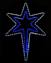Light Blue Walls Related Keywords Amp Suggestions Light by Bethlehem Star With A Blue Center Outdoor Christmas Decorations