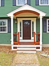 exterior comely small front porch decoration using square