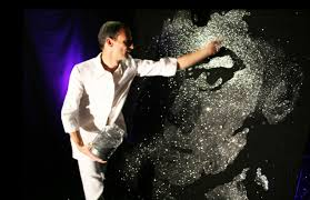 glitter speed painter entertainer streets united
