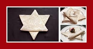 modern servietten falten stern anleitung für weihnachten sterne