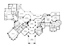 large house plans home plan 134 1355 floor plan story blueprint houses