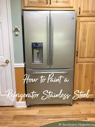 can you paint kitchen door handles painting a white refrigerator with liquid stainless steel