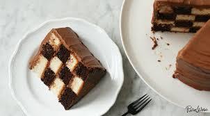 checkerboard cake recipe a unique cake design purewow