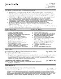 Systems Analyst Resume Example by 52 Best Information Technology It Resume Templates U0026 Samples