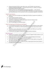 What Is A Government Cabinet Pols1101 Revision Notes Laws1101 Introduction To Australian