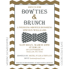 wedding brunch invitation bowties and brunch invitation kateogroup