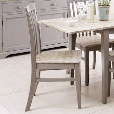 florence high back chair dove grey