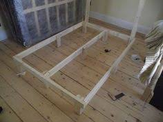Low Platform Bed Frame Diy by Cheap Easy Low Waste Platform Bed Plans Platform Beds